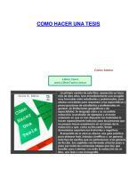 Sabino, Carlos - Como Hacer Una Tesis.pdf
