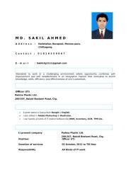 Sakil Ahmed CV.doc