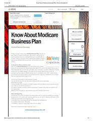 Know About Modicare Business Plan.pdf