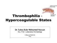 Hypercoagulable- Dr salwa-2014-2015.pdf