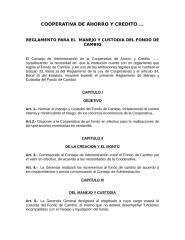 REGLAMENTO DE FONDO DE CAMBIO.doc