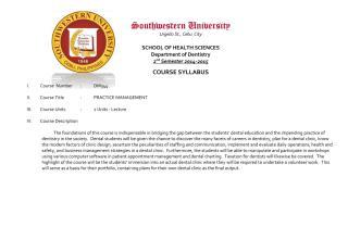 DM344 - Practice Management (Course Syllabus 2015).pdf