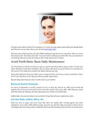 How to Avoid Teeth Stain.pdf