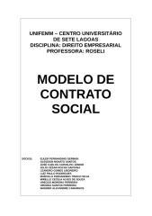 Trabalho de Direito Contrato Social.doc