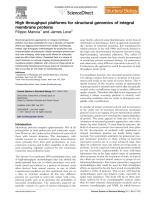 Mancia_Love_2011_High throughput platforms for structural genomics of integral membrane proteins.pdf