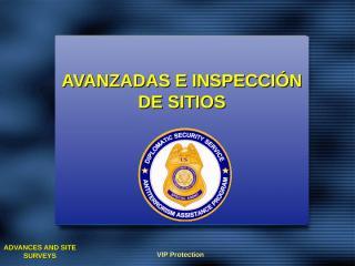 LA Spanish Lesson 31 - Advances and Site Surveys.ppt