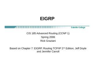 cis185-lecture-EIGRP.ppt