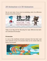 2D Animation vs 3D Animation.pdf