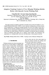 Adaptive Tracking Control of Two-Wheeled Welding Mobile Robot.PDF