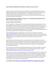Data Virtualization Market Research Report.pdf