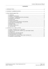 CONTRACT ADMINISTRATION GUIDE.doc